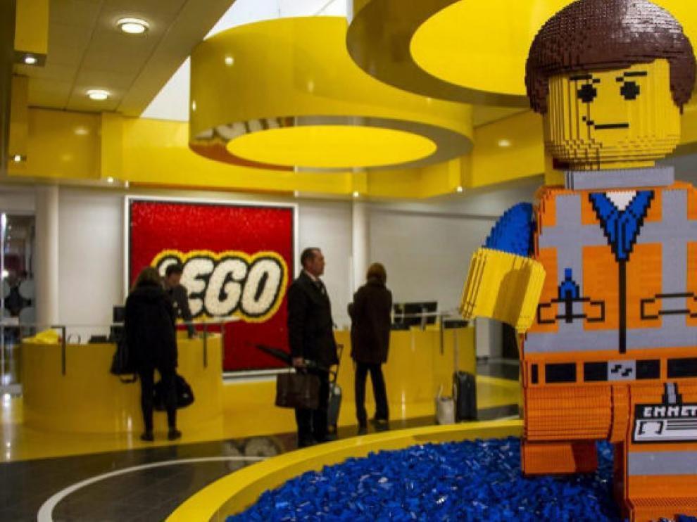 Una de las numerosas tiendas Lego que ya existen por toda Europa.