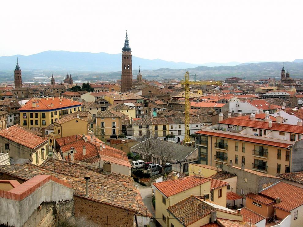 Imagen del casco urbano de Zaragoza.