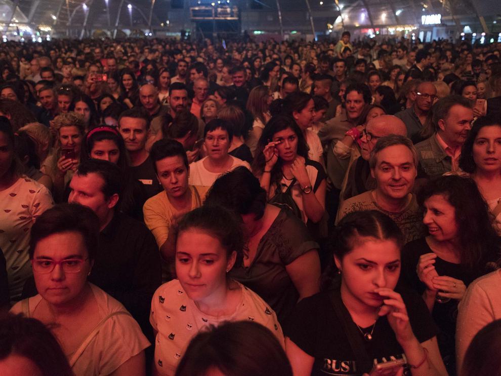 Concierto de Bustamante en le Espacio Zity de Zaragoza