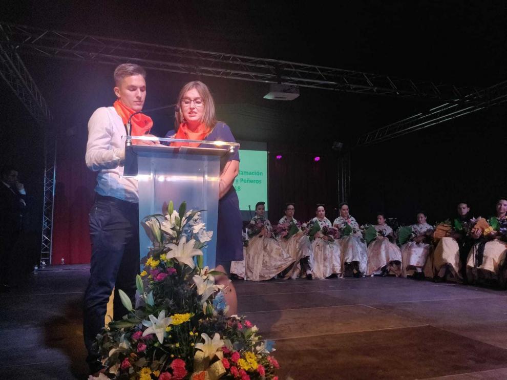 Ángel Vera y Silvia Melero, responsables de Peña Fragatina