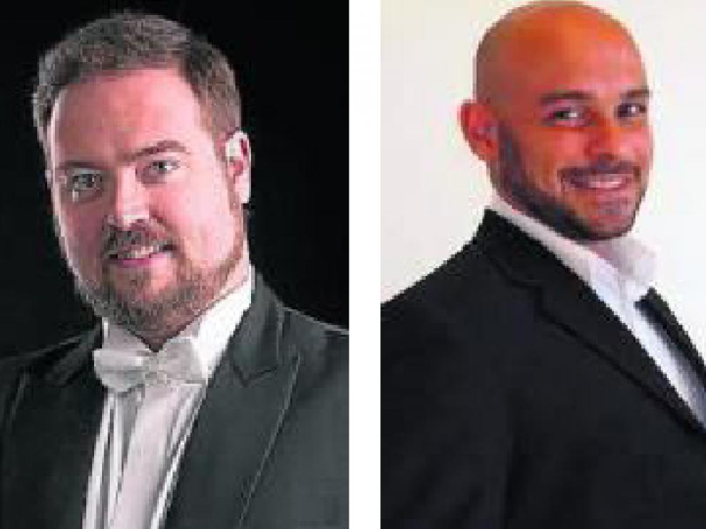 Los tenores Miguel Borrallo, Max Jota y Simone Frediani.
