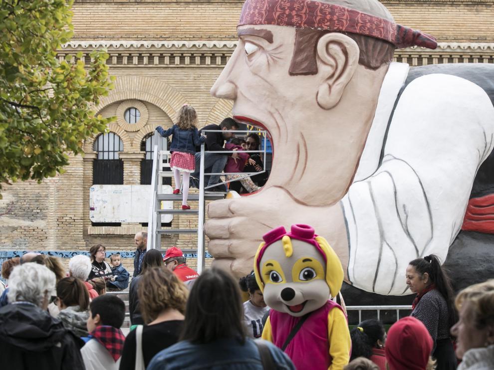 Tragachicos el domingo 7 de octubre en las Fiestas del Pilar