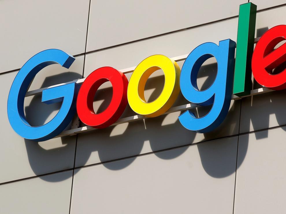 Letrero Google.