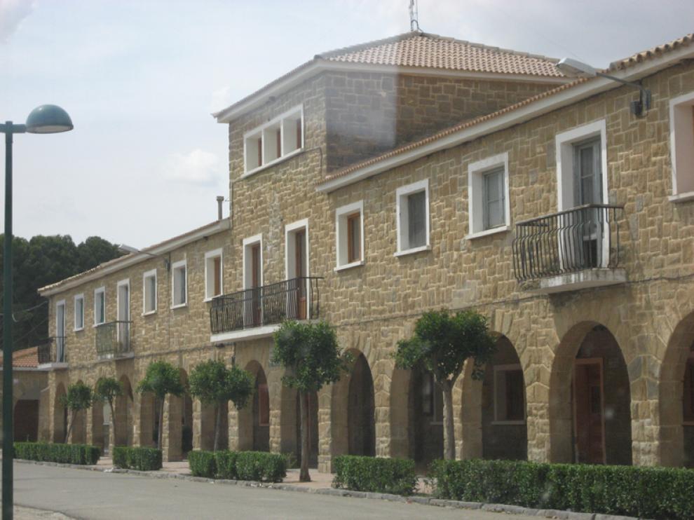 Pinsoro es uno de los pueblos de colonización de Ejea de los Caballeros.