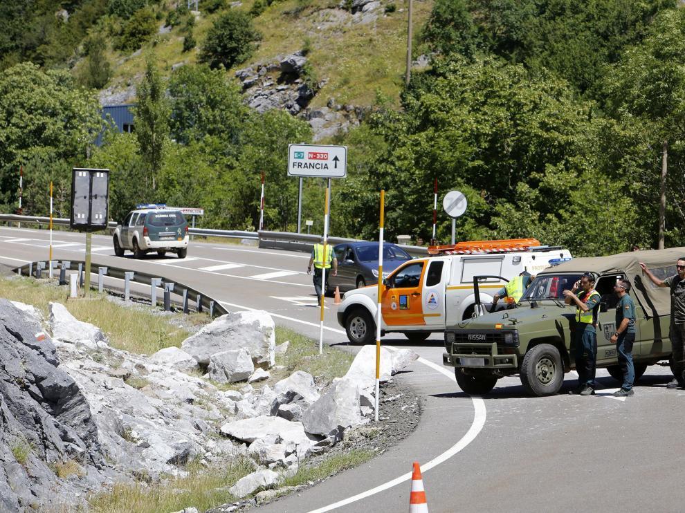 Un accidente le costó la vida a un militar en Canfranc en unas prácticas de escalada