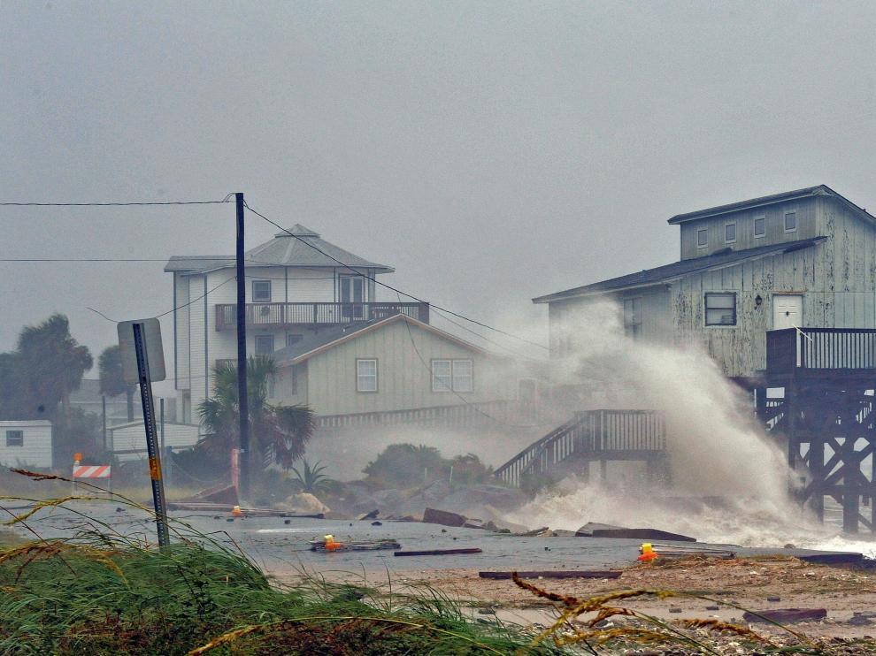 El huracán 'Michael' a su paso por Florida.