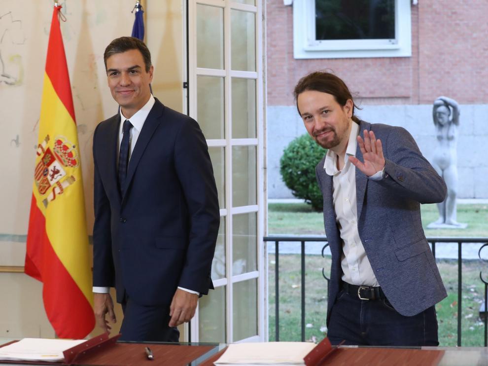 Firma del acuerdo de presupuestos