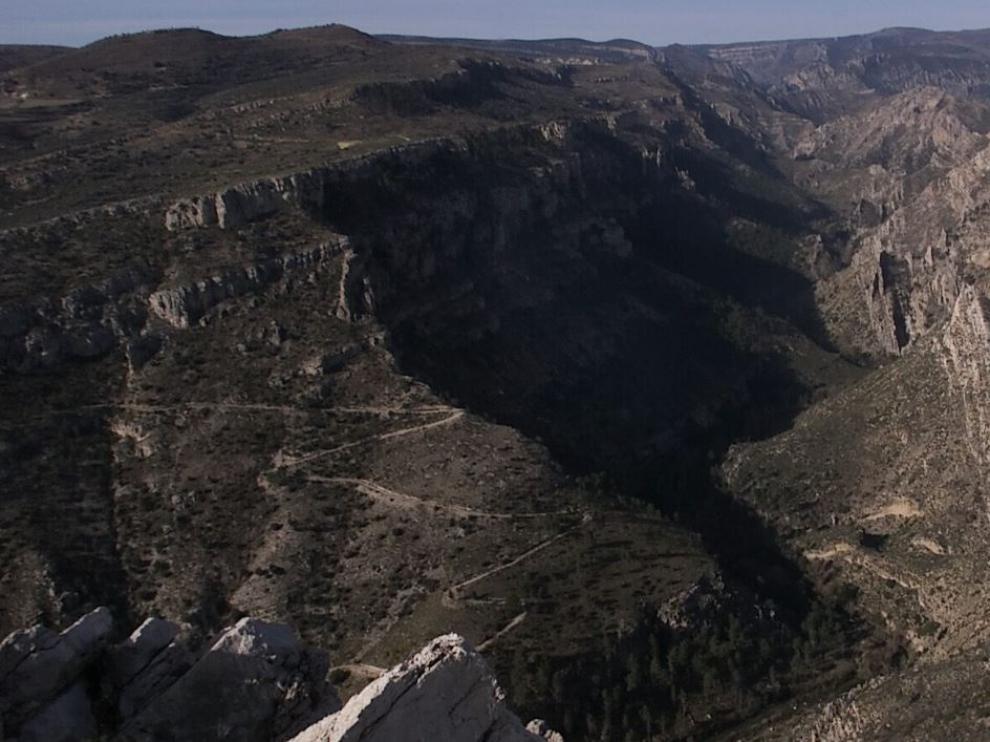 Entorno natural de Cuevas del Cañart.