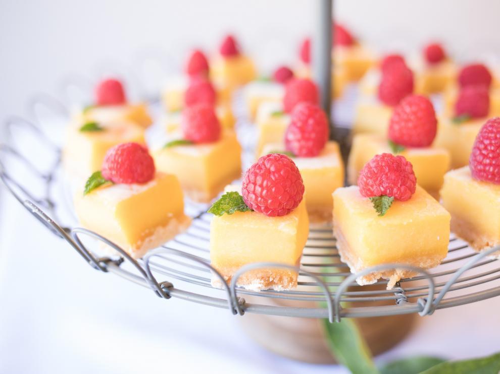 La tarta de limón es un postre muy ligero y digestivo.