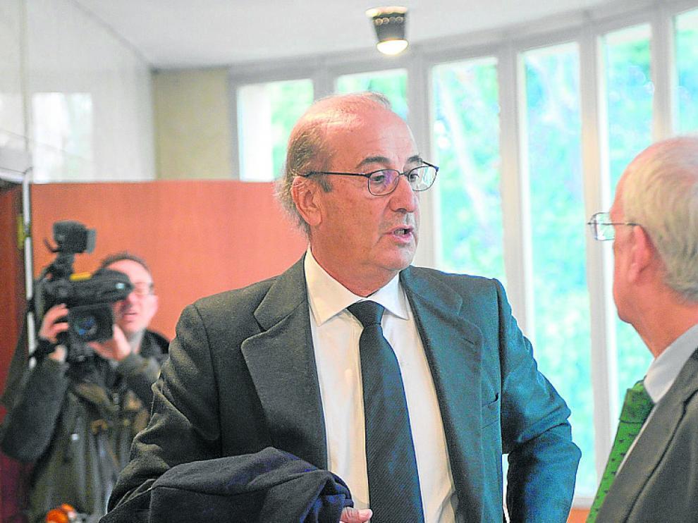 Francis Franco, en los Juzgados de Teruel el pasado enero.