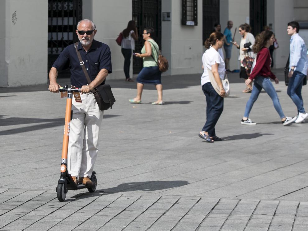 El servicio de patinetes de Koko entró en funcionamiento en Zaragoza el pasado mes de septiembre.