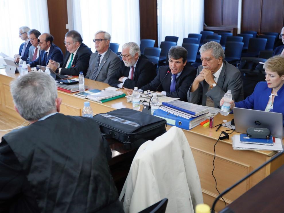 Imagen de archivo del interrogatorio de los abogados de la defensa en el juicio de la pieza política del caso ERE.