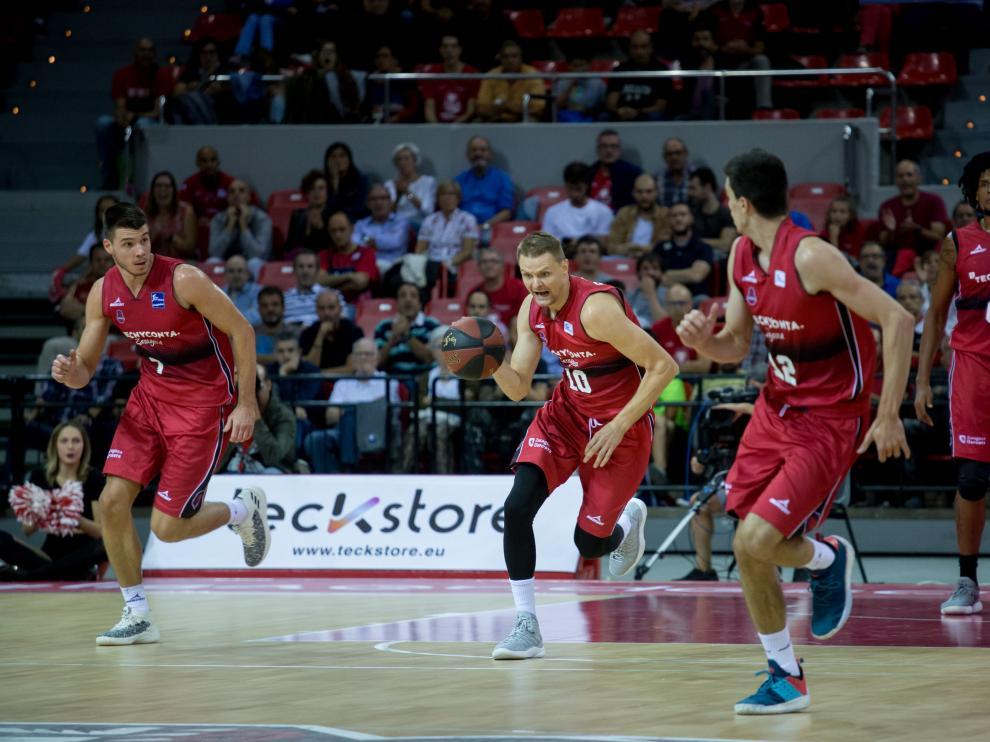 El Tecnyconta disputa la cuarta jornada de la Liga Endesa