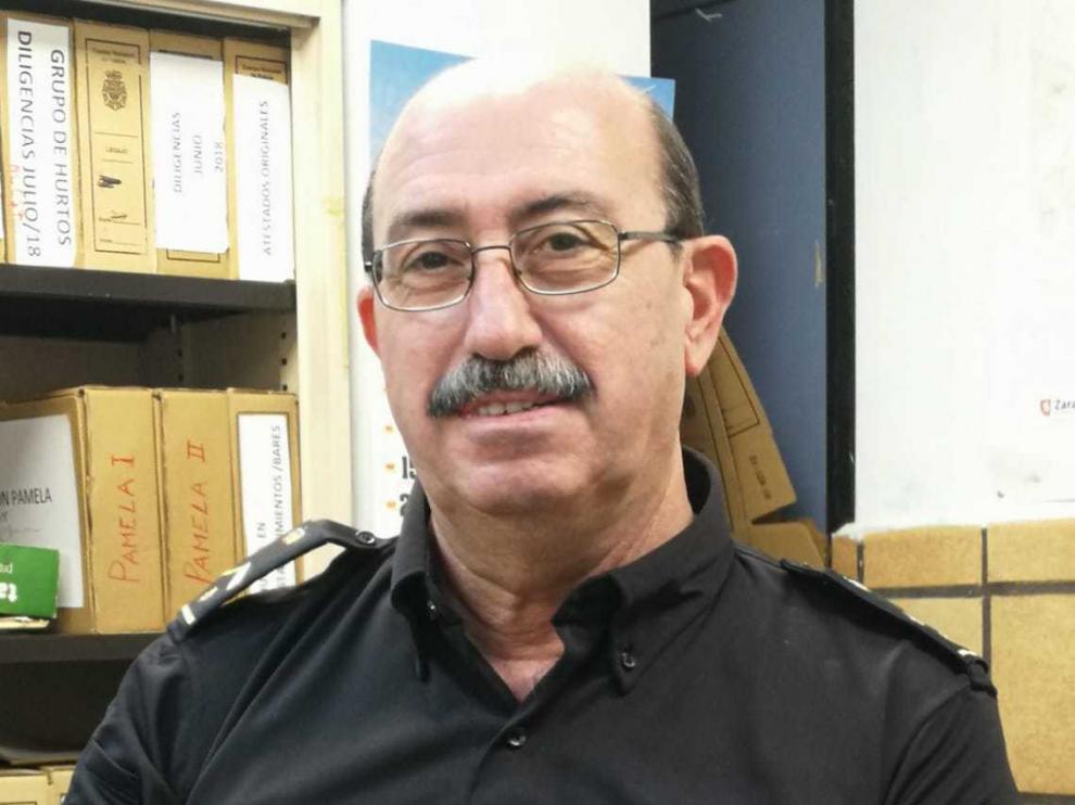 Rafael Alarcón, responsable del Grupo de Hurtos de la Policía Nacional.