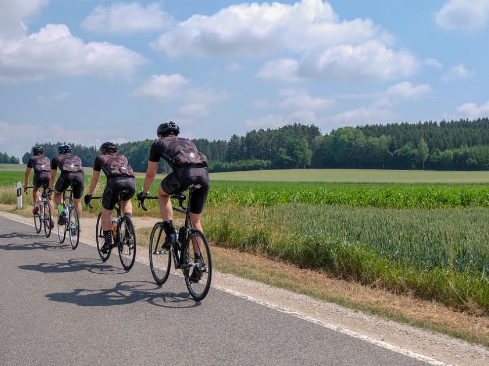 Ciclistas en una imagen de archivo.