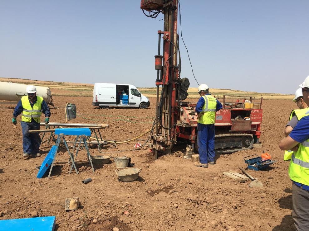 Los primeros trabajos para la construcción de tres parques eólicos ya están en marcha.