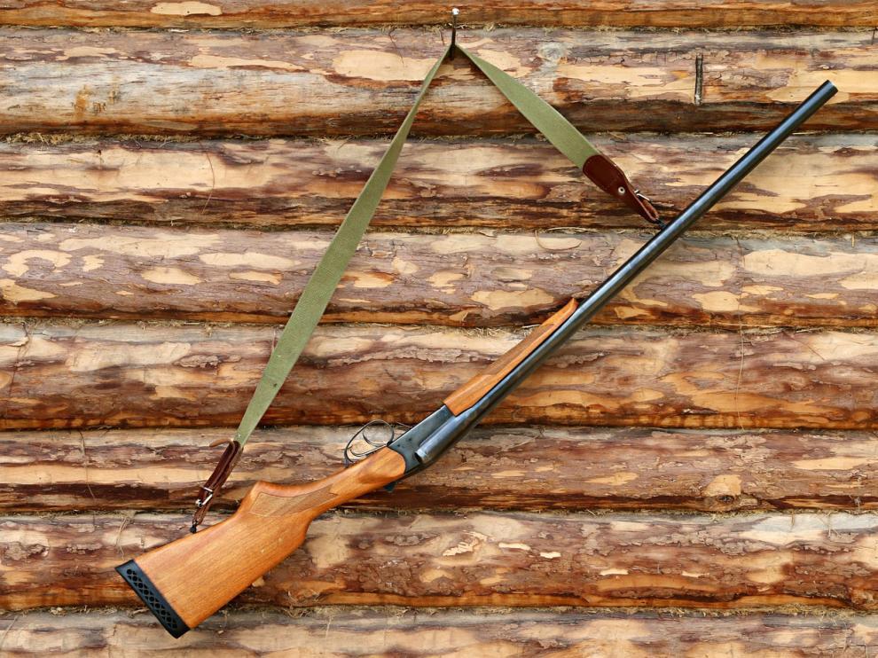 Foto de archivo de una escopeta de caza.