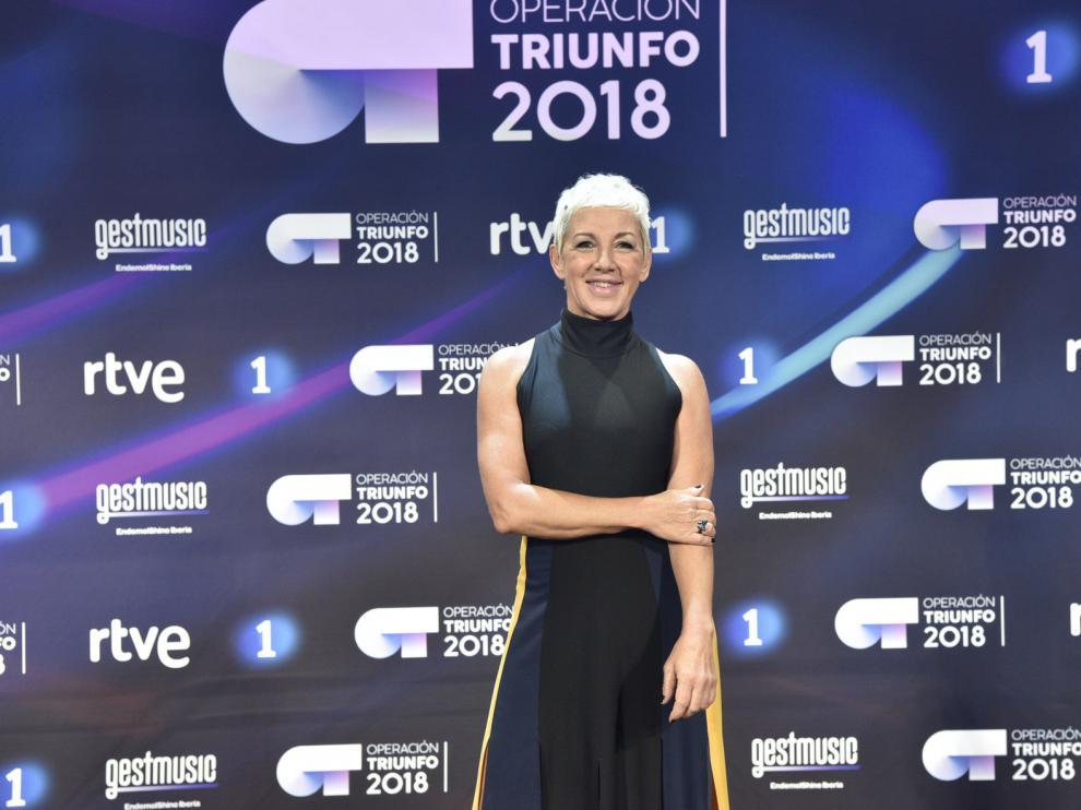 Ana Torroja, en una participación en Operación Triunfo