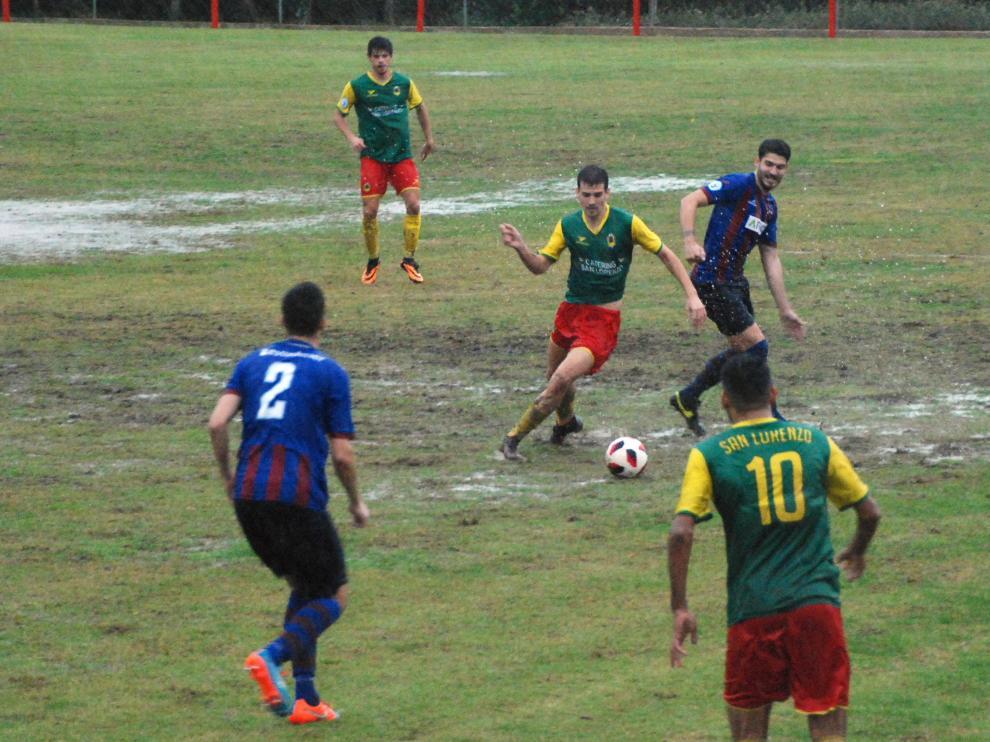 Fútbol. Tercera División- San Lorenzo vs. Villanueva.