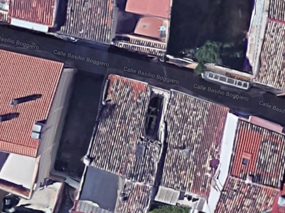 Los hechos se produjeron en una vivienda de la calle de Boggiero de Zaragoza