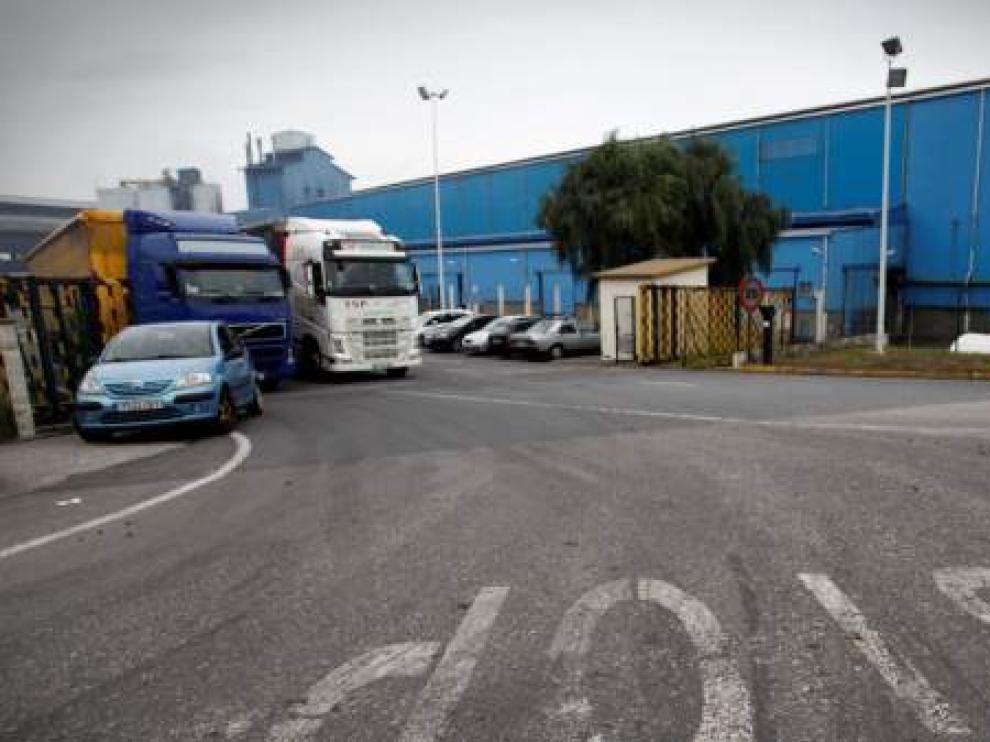 Una de las plantas de Alcoa en España.