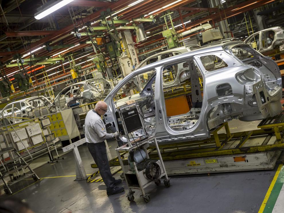 Imagen de la planta de Opel en Figueruelas