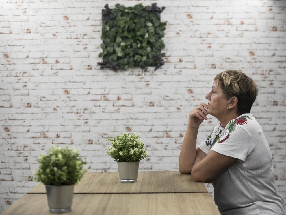 Rosa Calvo ya es casi ex agorafóbica, ha logrado superar parte de sus miedos.