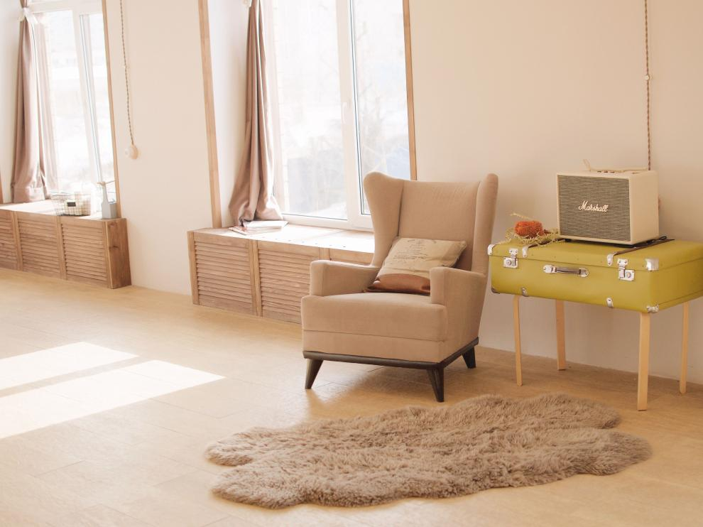 Las alfombras de pelo largo, además de un mayor confort, aportan calidez y ahorran de energía.