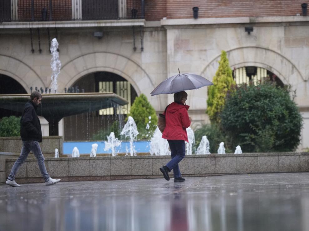 En la provincia de Teruel, por el contrario, ha llovido el doble de lo habitual.
