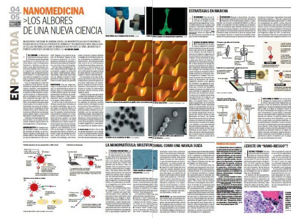 Este reportaje de Ricardo Ibarra publicado en 2007 y dedicado a la prometedora nanomedicina fue finalista de los Premios Boehringer Ingelheim al Periodismo en Medicina
