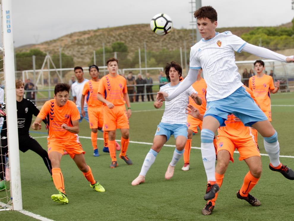 Fútbol. Cadete- Real Zaragoza vs. Ebro.
