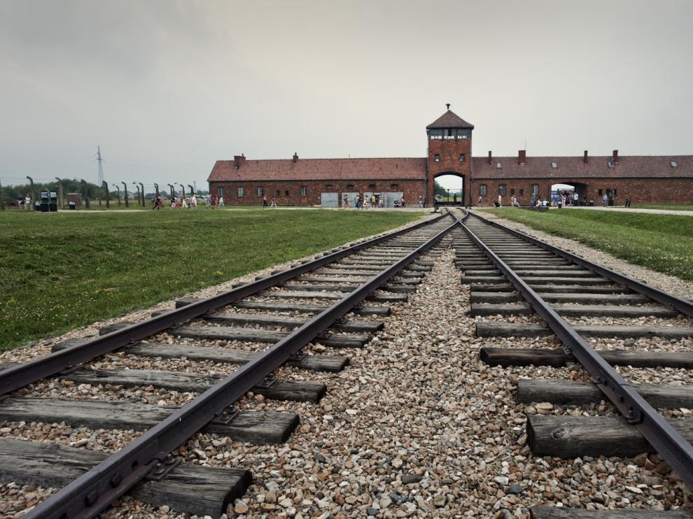 El campo de extermino de Auschwitz, símbolo de la barbarie nazi.
