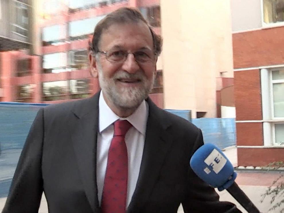 Mariano Rajoy, en una imagen de archivo tras la moción de censura.