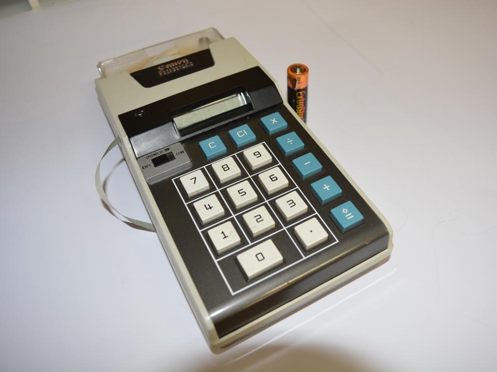 La Pocketronic, de Canon, una enorme 'miniaturización' (1969)