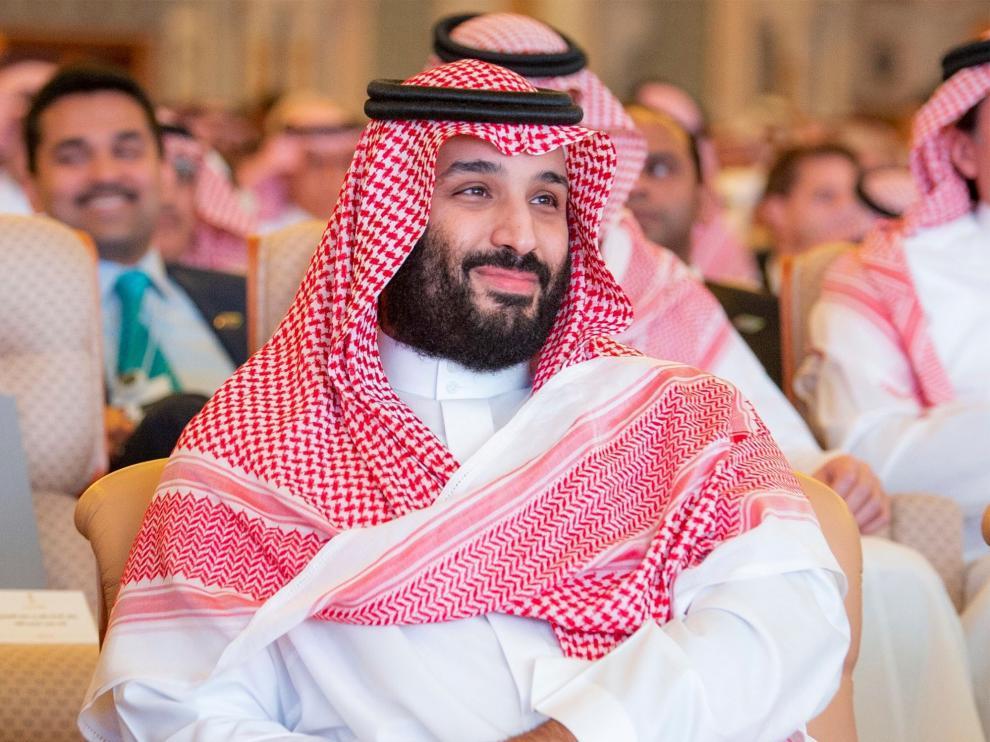 El príncipe saudí Bin Salman en imagen de archivo.