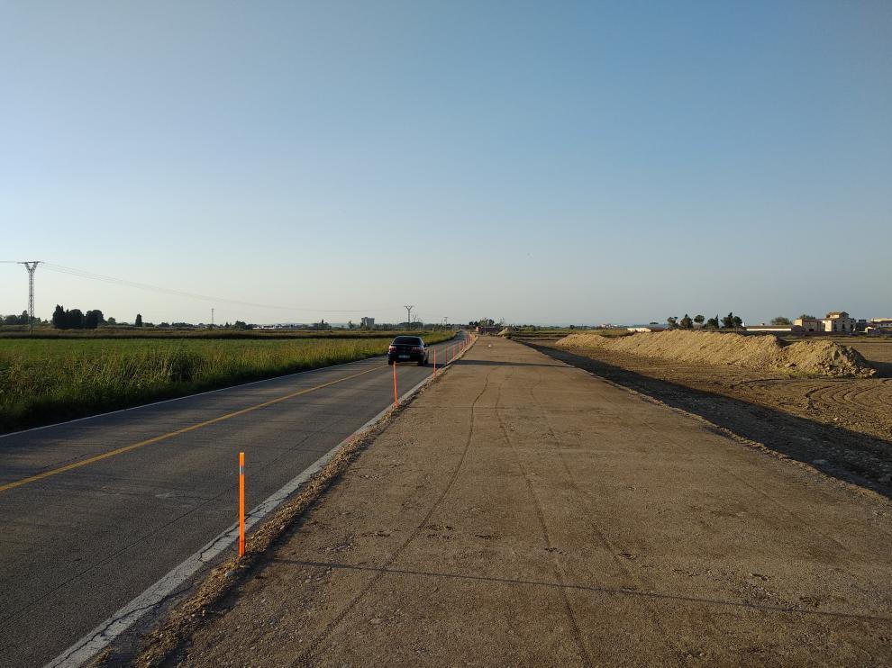 Arreglo de la carretera de Pastriz