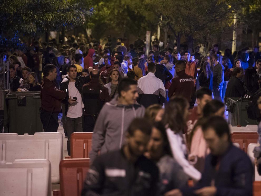 El plan de seguridad de Zaragoza pondrá especial hincapié en las grandes aglomeraciones.