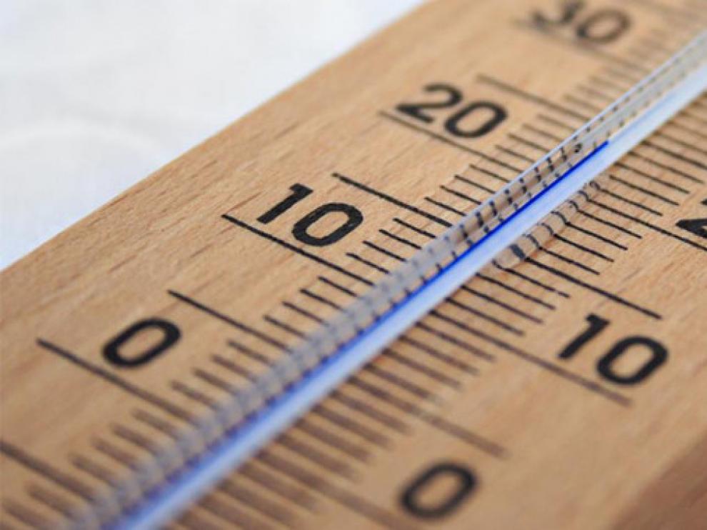 Los termómetros descienden en Santa Eulalia a 7,8 grados bajo cero