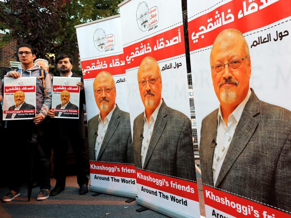 El periodista saudí asesinado Jamal Khashoggi.