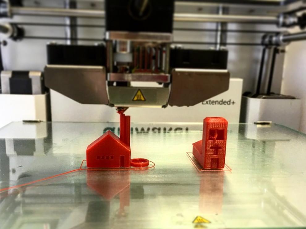 Modelo de impresora 3D.