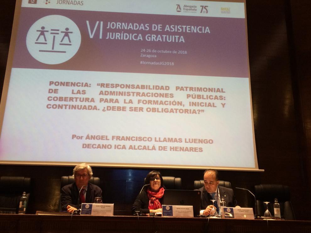 Una ponencia de las VI Jornadas de Asistencia de Justicia Gratuita.