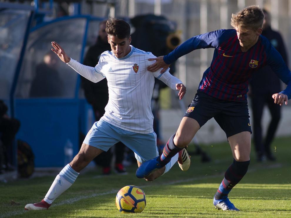 Fútbol. DHJ- Real Zaragoza vs. Barcelona.