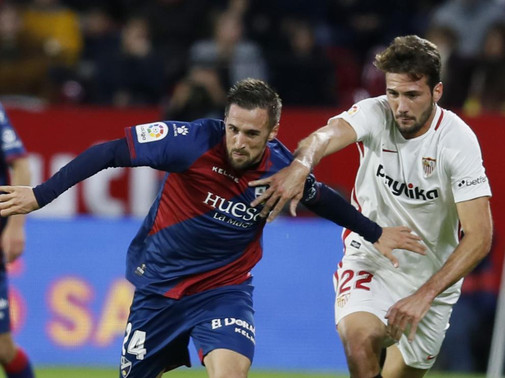Las mejores imágenes del partido Sevilla - SD Huesca