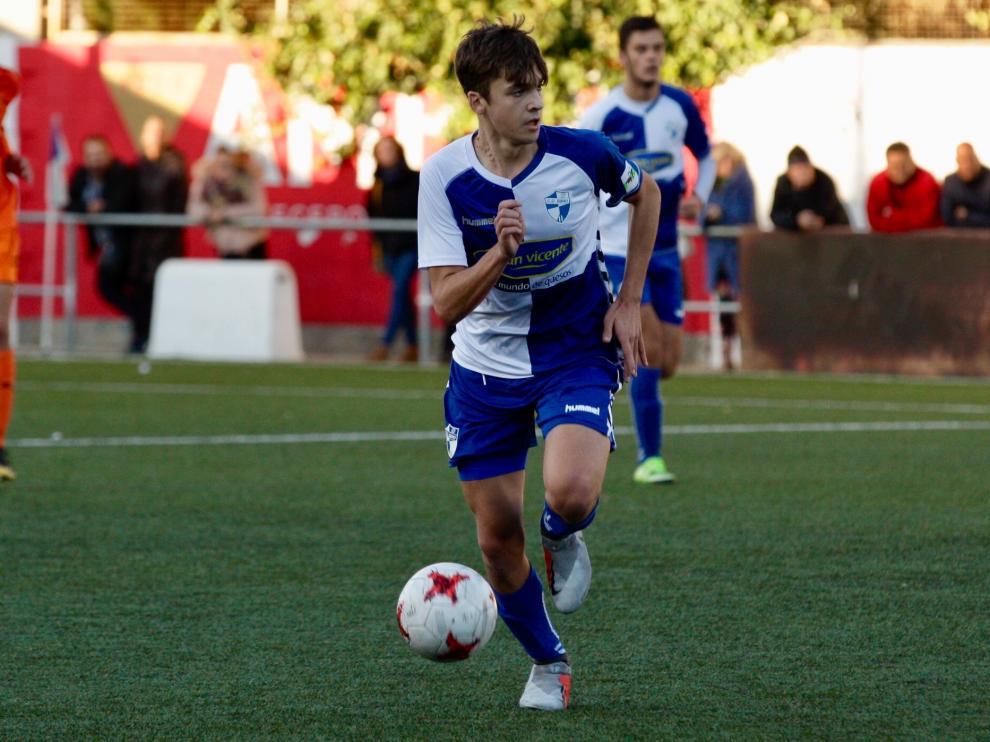 Imagen de archivo del partido de la jornada ocho entre el Ebro y el Juventud.