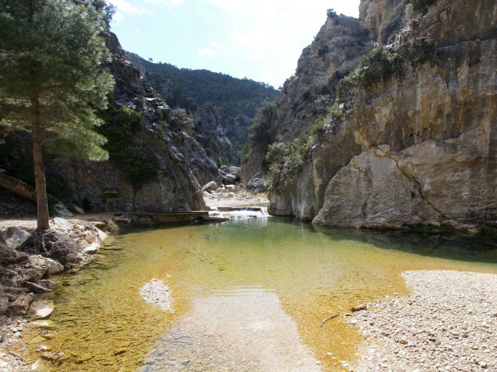 El Parrizal de Beceite, un hermoso paseo por la naturaleza en la Comarca del Matarraña.