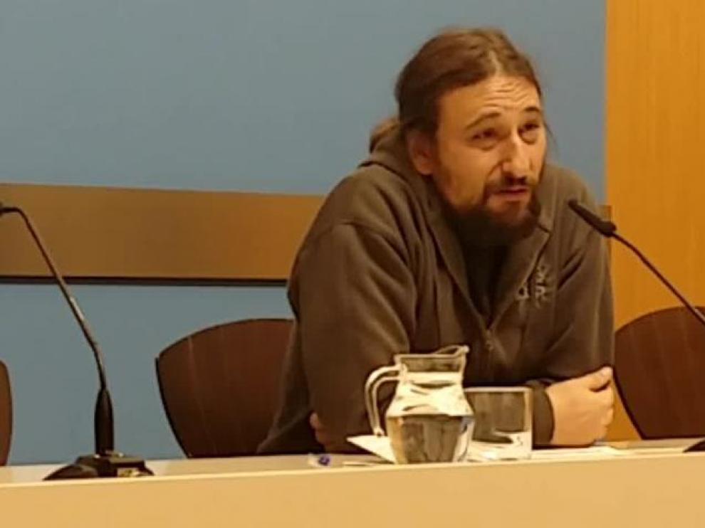 El concejal de Vivienda del Ayuntamiento de Zaragoza, Pablo Híjar.