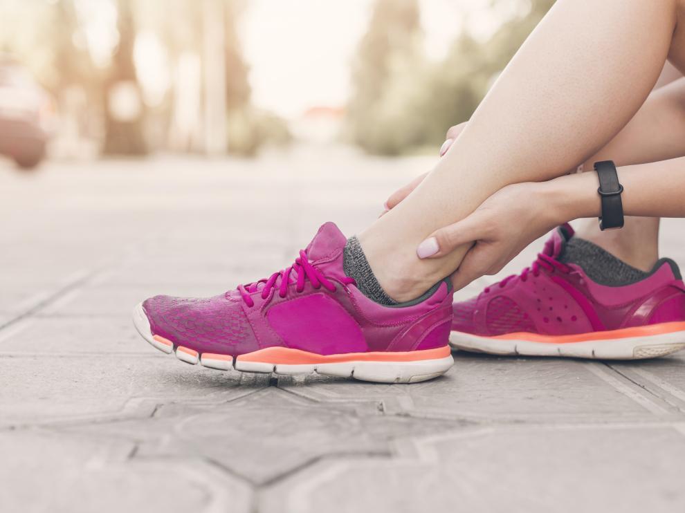 Los ligamentos laterales de tobillo son los que se lesionan más a menudo.