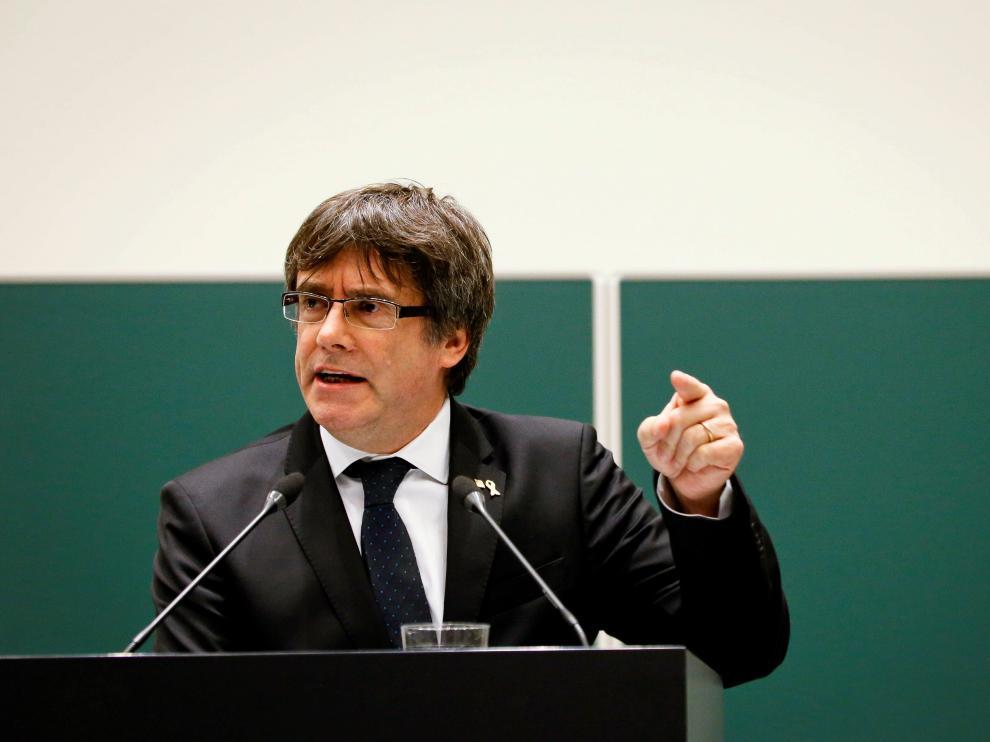 El expresidente de la Generalitat de Cataluña, Carles Puigdemont.