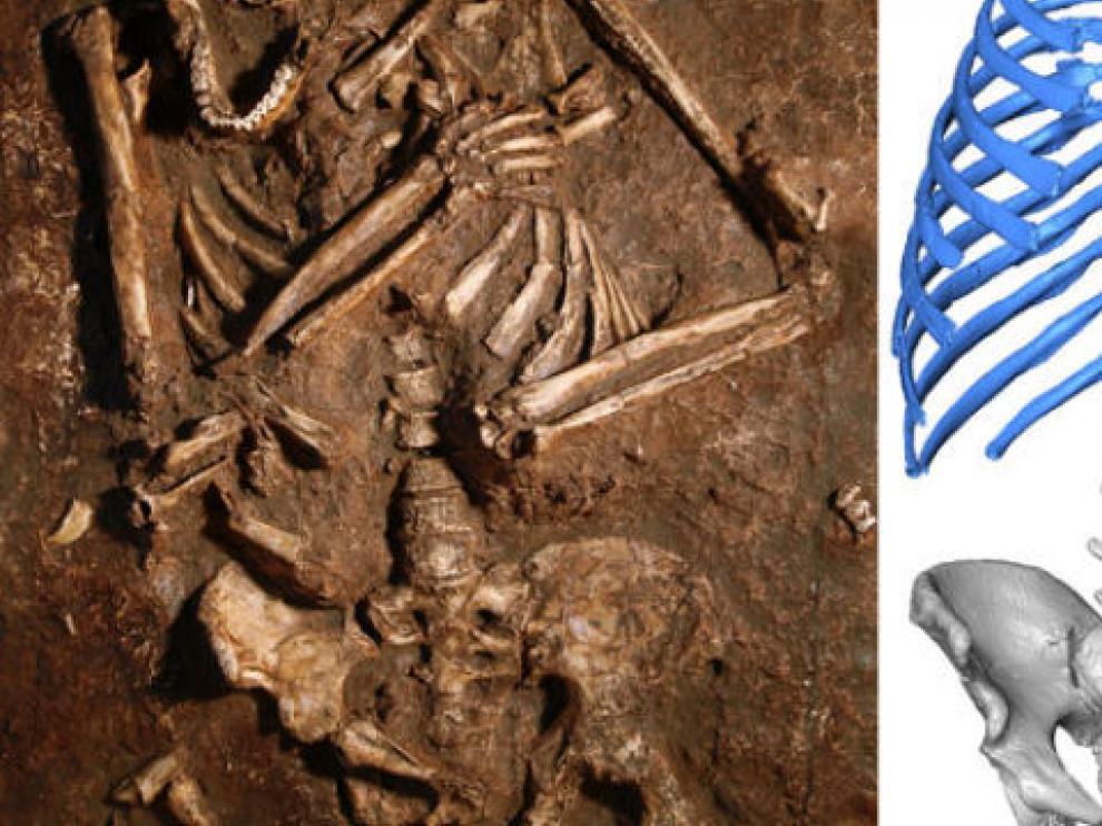 Los neandertales caminaban más erguidos  y tenían más capacidad pulmonar que nosotros