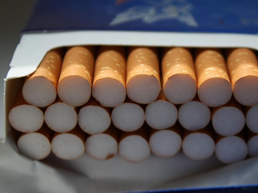 .Cagetilla de cigarrillos